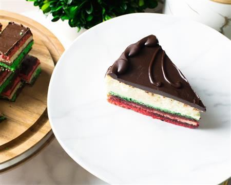 Name: Rainbow Cookie Cheesecake Description:  Group: Product Images