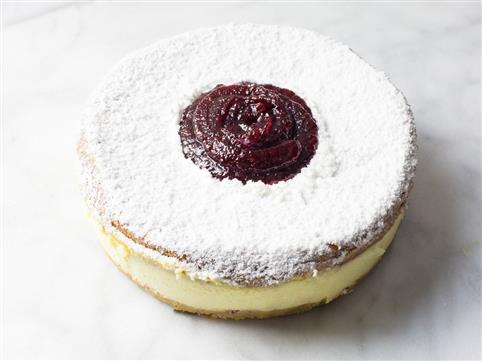 Name: Raspberry Linzer Tart Cheesecake Description:  Group: Product Images