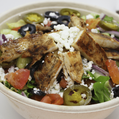 20 - Chicken Greek Salad