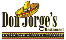 Don Jorge's Restaurant Latin Bar & Grill Cuisine