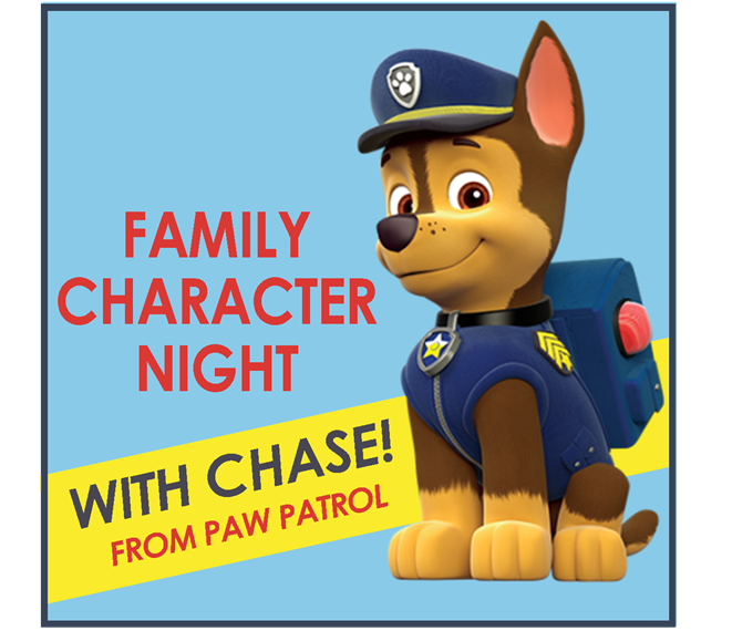 a picture of Chase from Paw Patrol