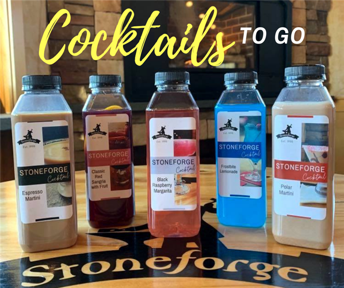 5 different cocktails to go