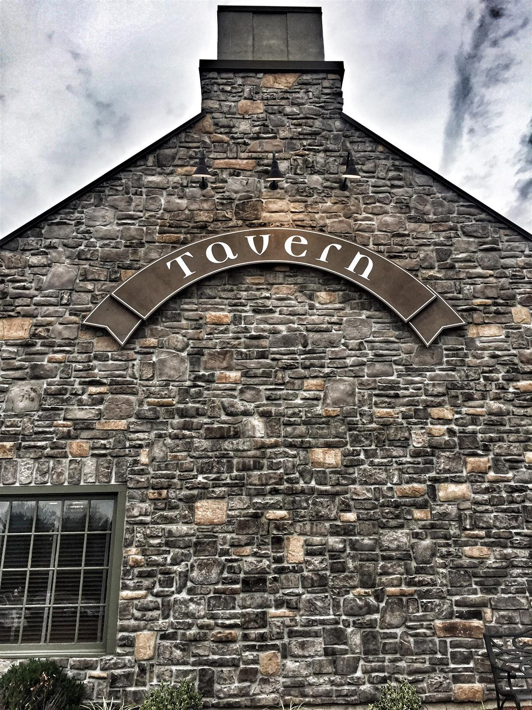 outside of Tavern building