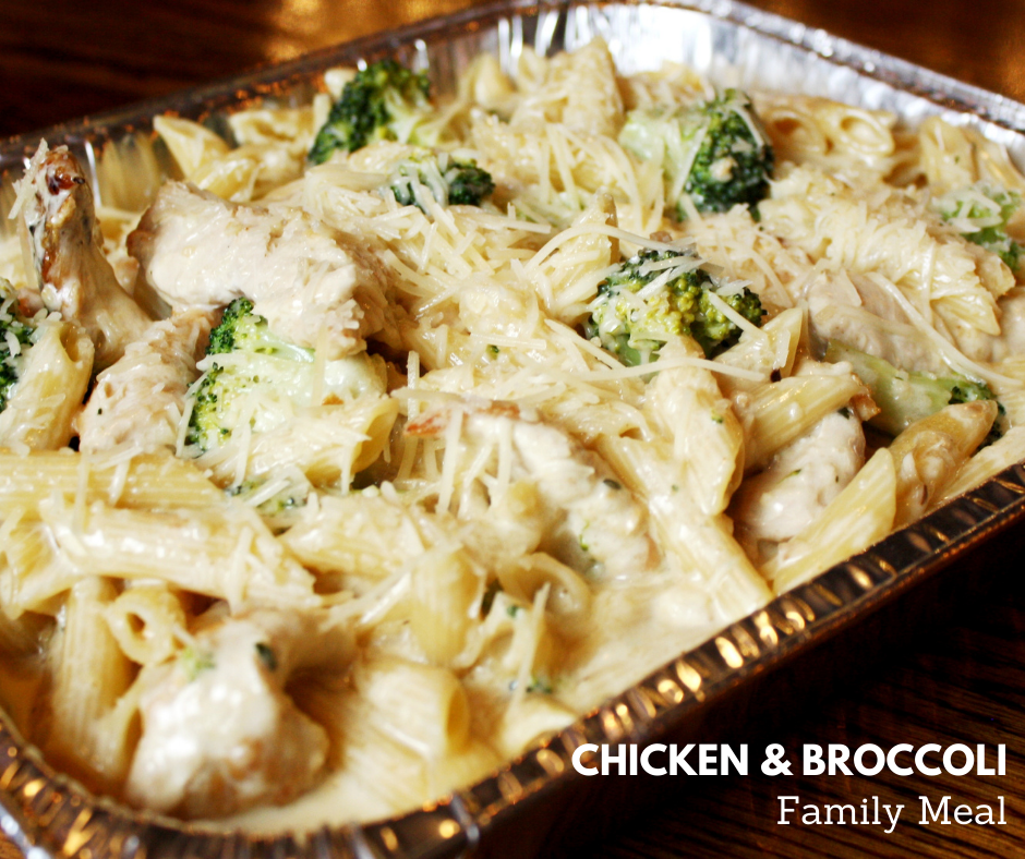 Chicken & Broccoli Family Meal