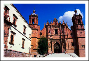 historical building in Zacatecas