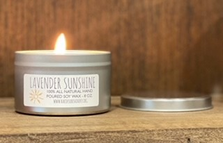 Lavender Sunshine Candle 8oz