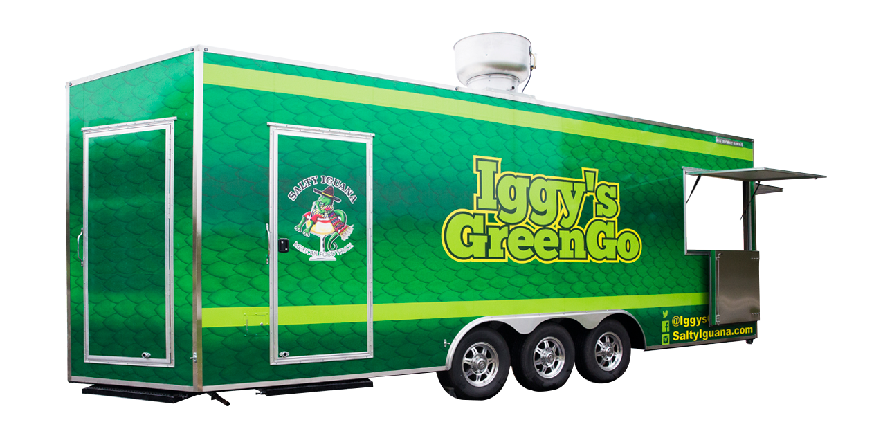 Iggy's Green Go Food Truck