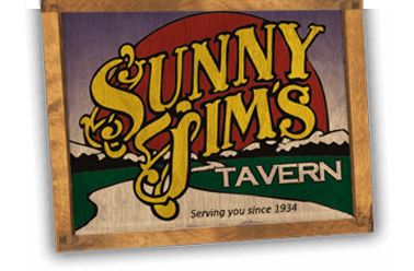 Sunny Jim's Tavern, Serving you since 1934