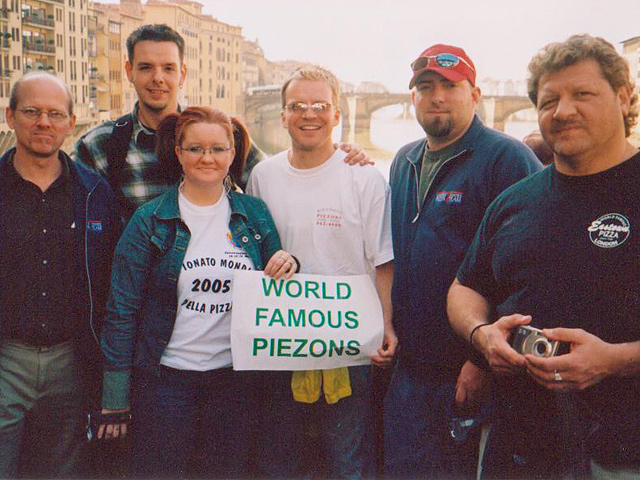 The Samosky's Homestyle Pizzeria crew in Florence
