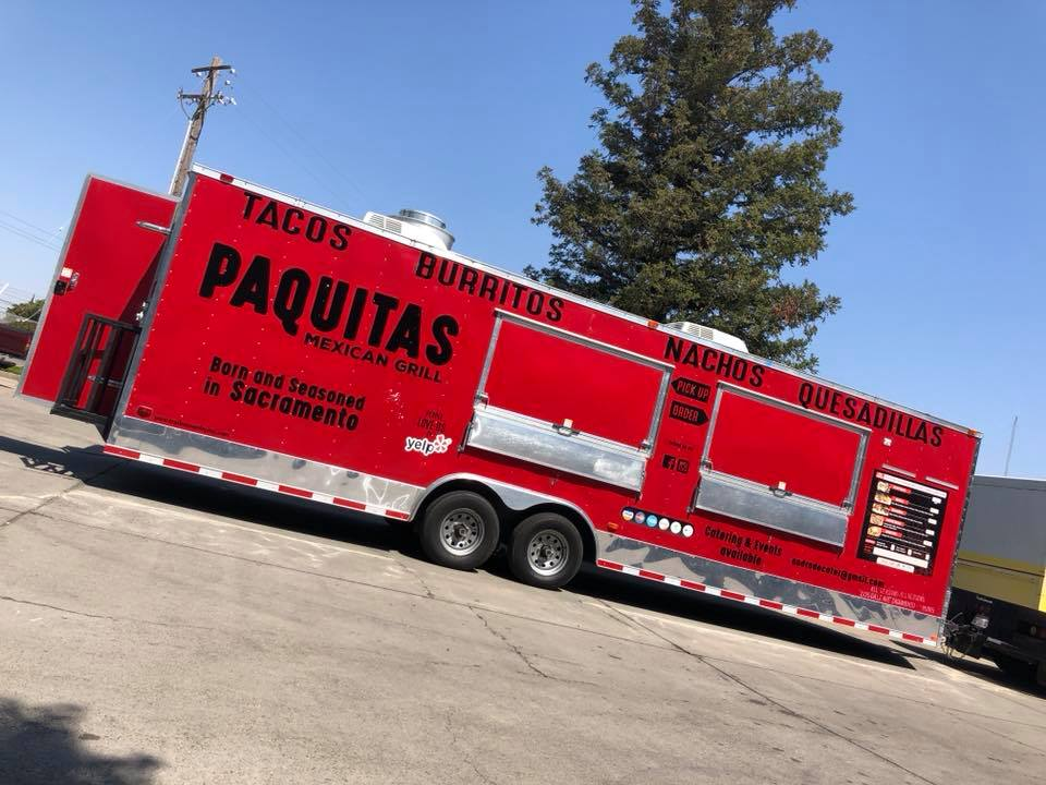 Paquitas Mexican Grill Food Truck