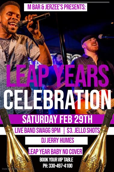 Leap Year Flyer Band swagg