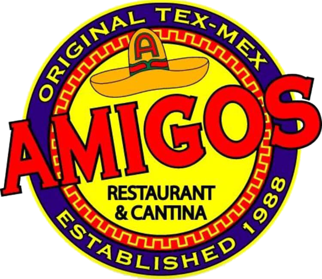 Amigos Restaurant & Cantina, Original Tex-Mex, Established 1988