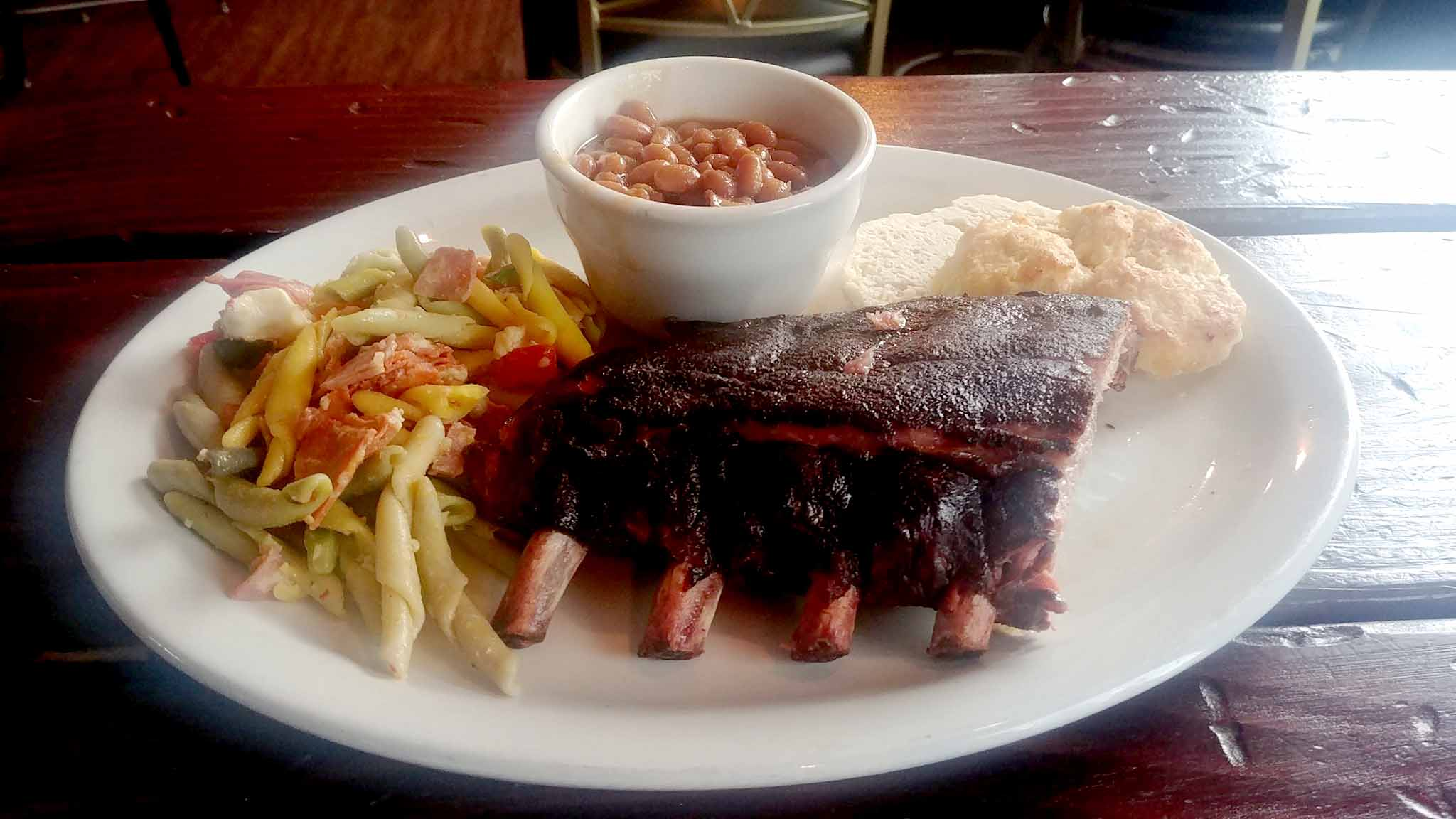 rack of ribs with side of beans.jpg