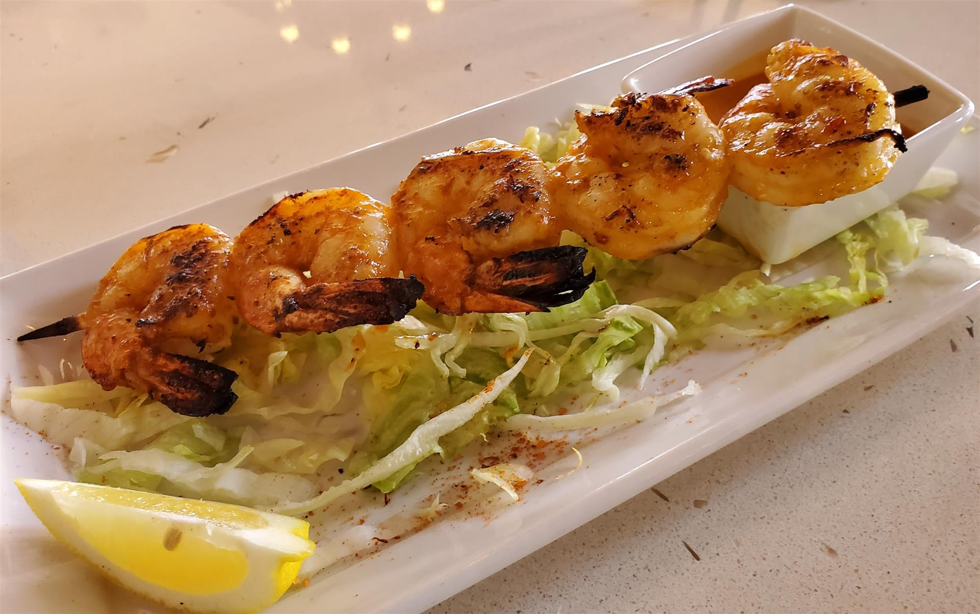 Cogburns Grilled Shrimp