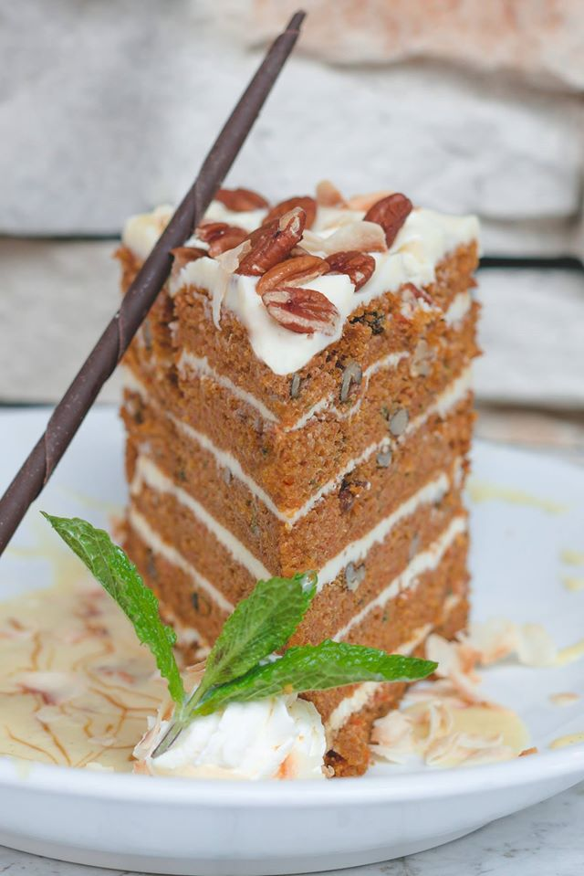 6 layer carrot cake