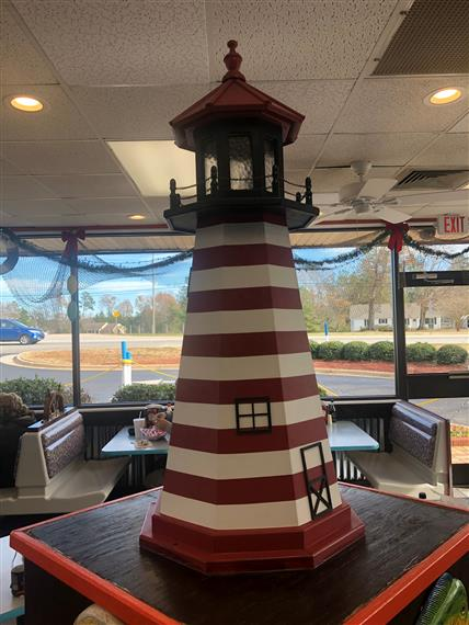 statue of a lighthouse