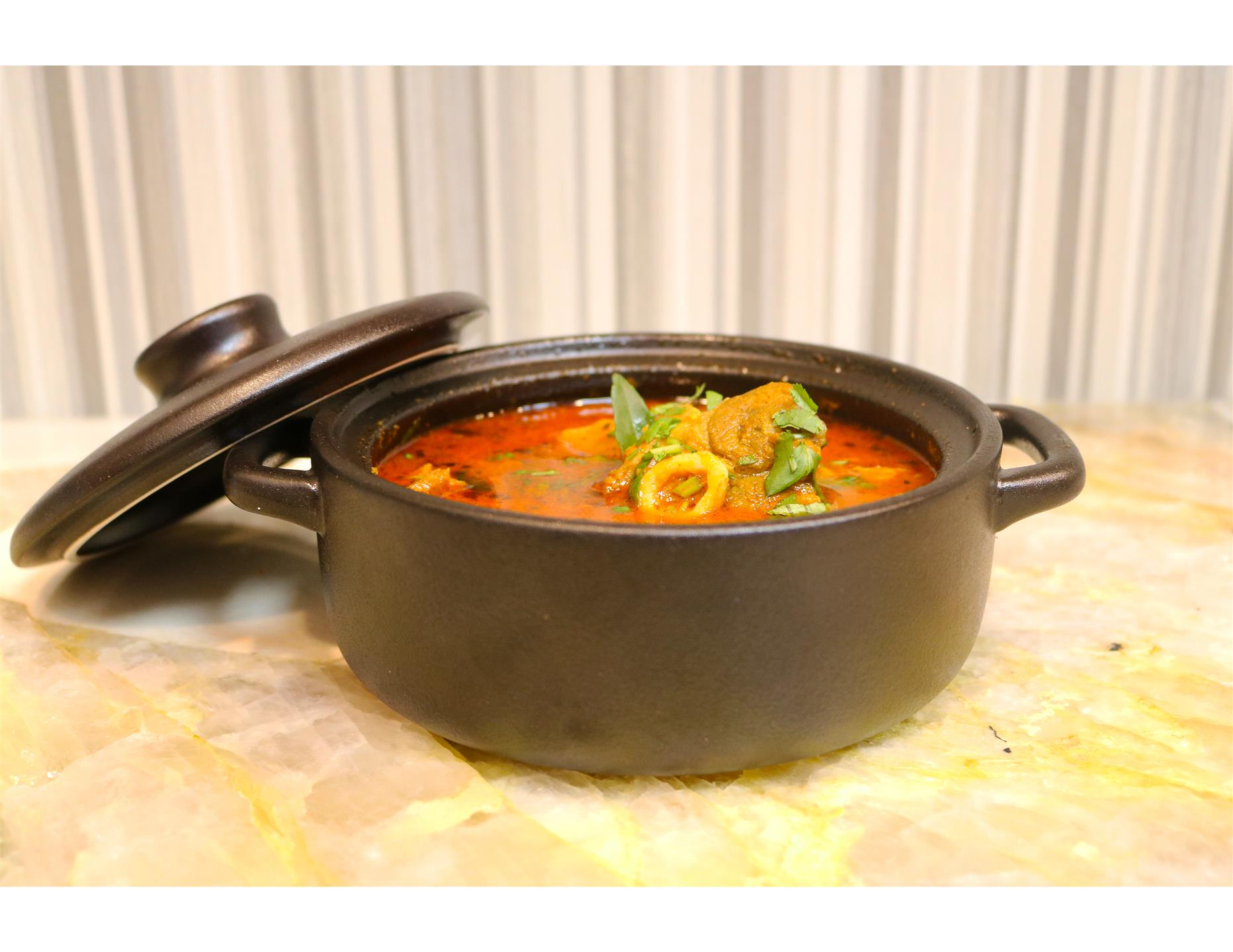 pot of curry