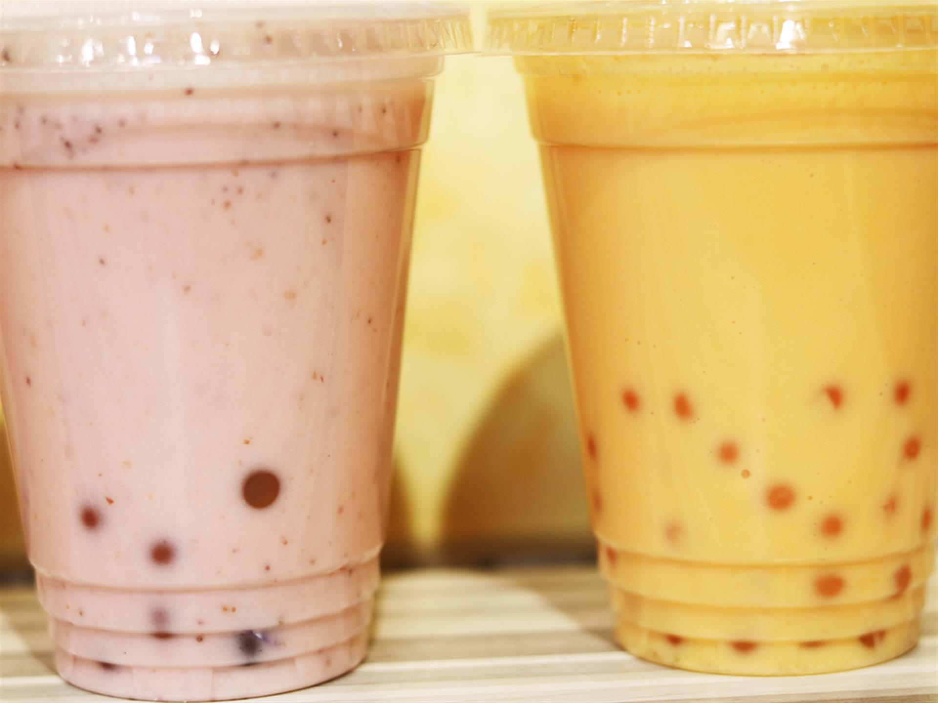 Two beverages