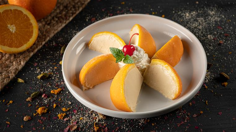 Orange Kulfi