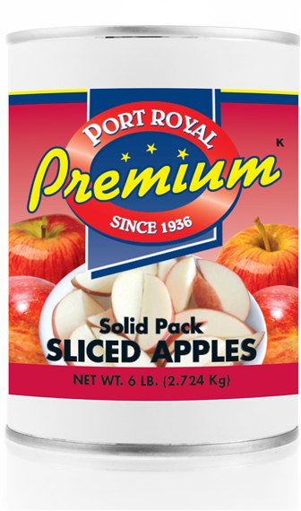 Canned Solid Pack Sliced Apples
