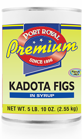 Canned kadota figs in syrup