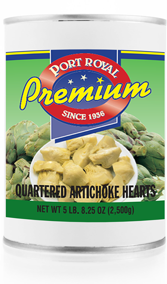 Canned Artichoke Hearts Quartered
