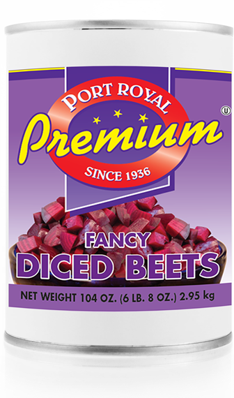 Canned Fancy Diced Beets