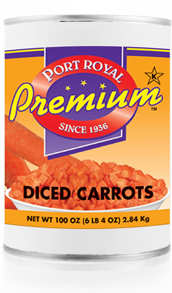 Canned Diced Carrots
