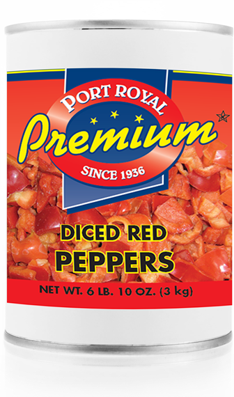 Canned Diced Red Peppers