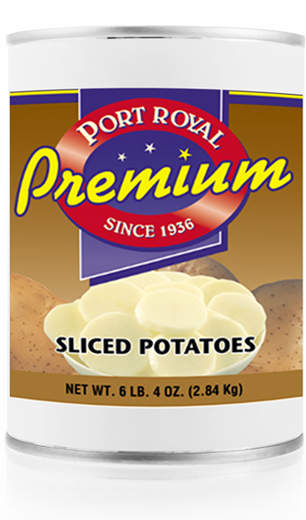 Canned sliced Potatoes