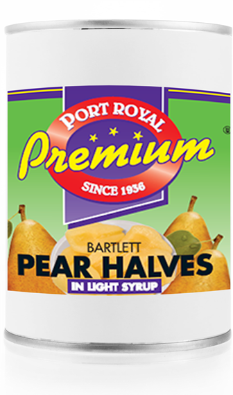 Canned Bartlett Pear Halves in Light Syrup