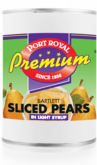 Canned Bartlett Slice Pears In Syrup