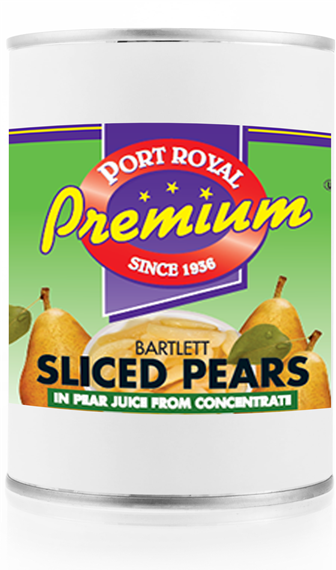 Canned Bartlett Sliced Pears in Pear Juice