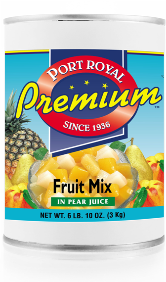 canned Fruit Mix in pear juice