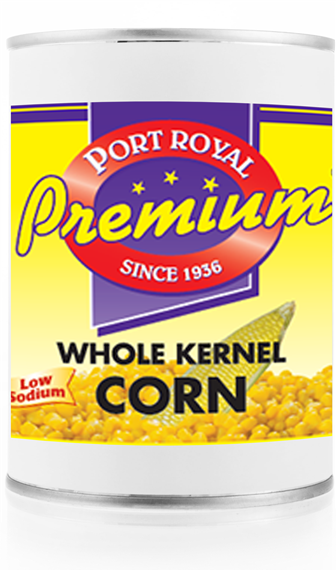 canned Whole kernel corn