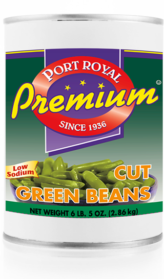 canned Low sodium cut green beans