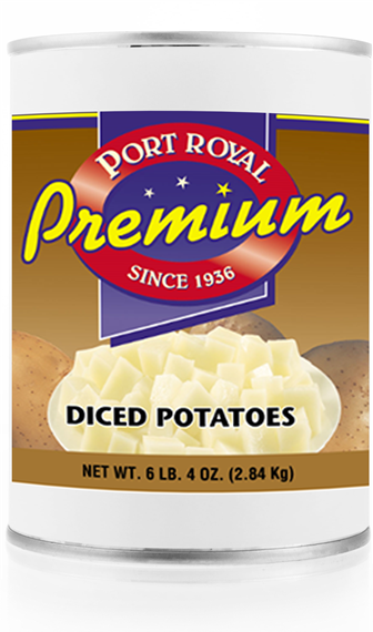 canned Diced Potatoes