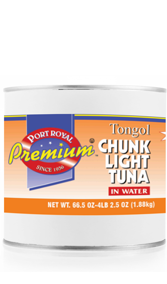canned Tongol Chunk Light Tuna in Water