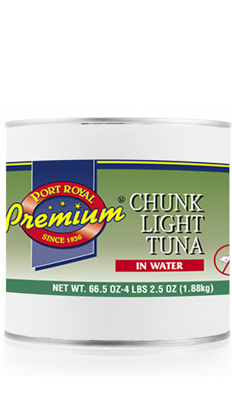 canned Chunk Light Tuna in Water