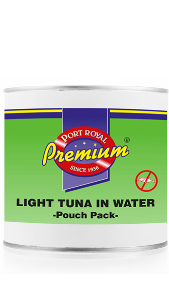 Light Tuna in water pouch pack