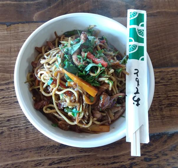beef lo mein special