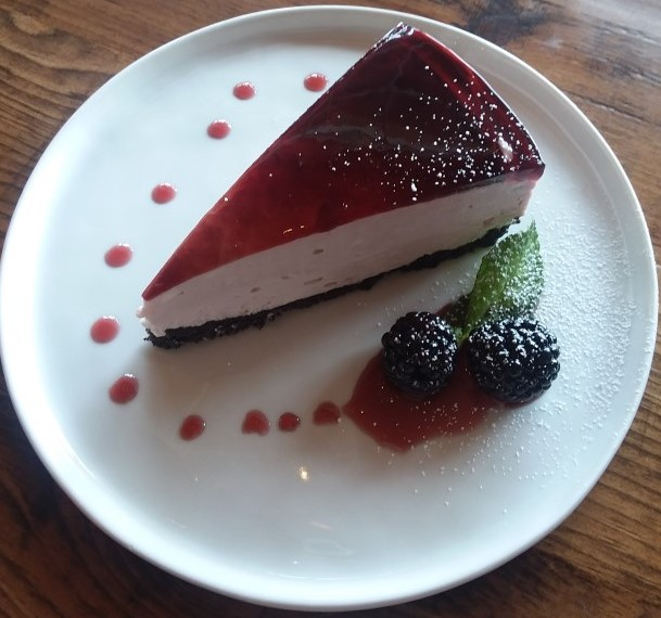 blackberry cheesecake special