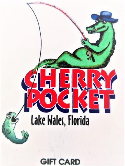 Cherry Pocket Steak n Seafood Gift Card
