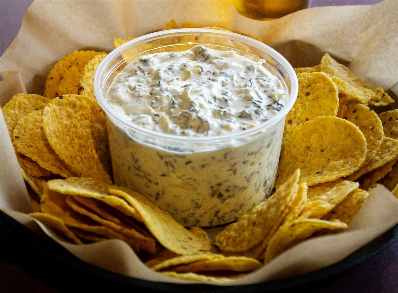 Spinach Dip & Chips