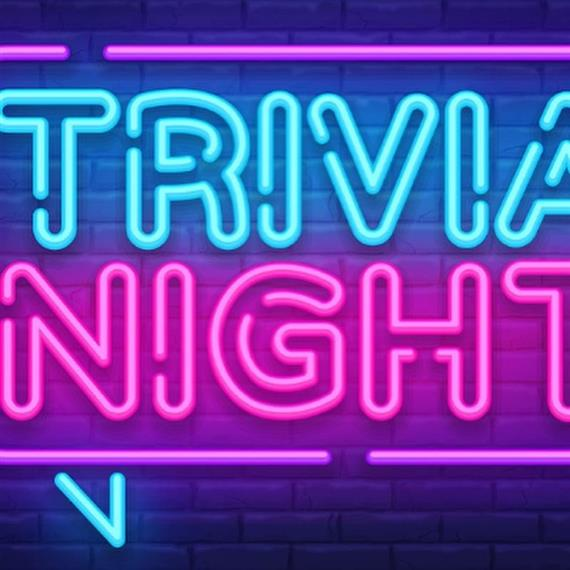 Trivia every tuesday night from 6-9pm
