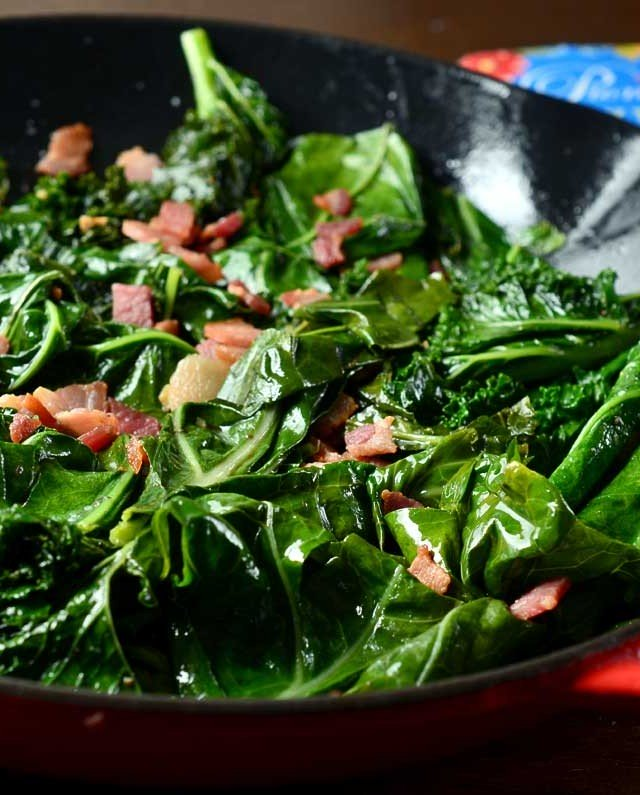 Mean Greens for 4-6 people