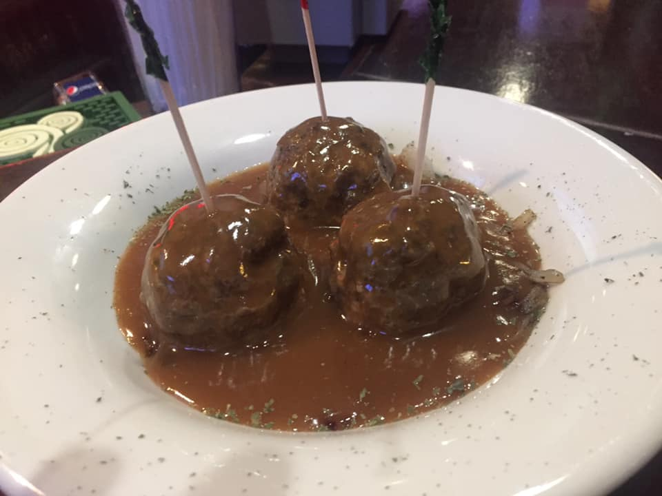 Swedish meatball appetizers
