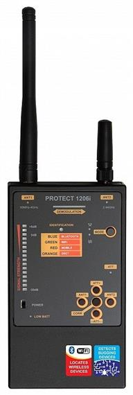 Professional Digital RF Detector