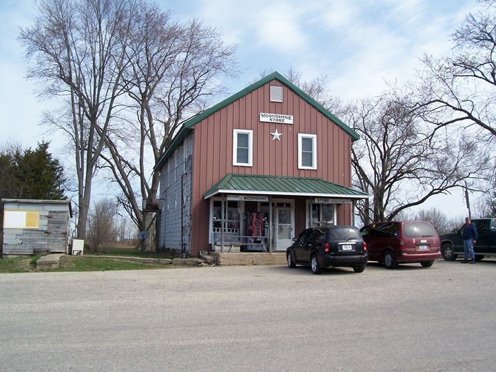 front of Moonshine Store