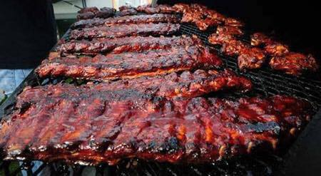 Wednesday Full Slab Smoked Baby Back Ribs